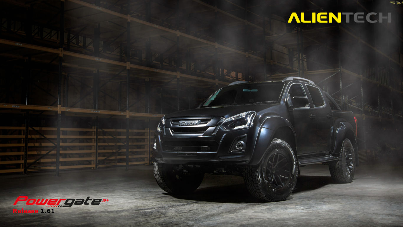ISUZU D-MAX NOW SUPPORTED BY POWERGATE3+!